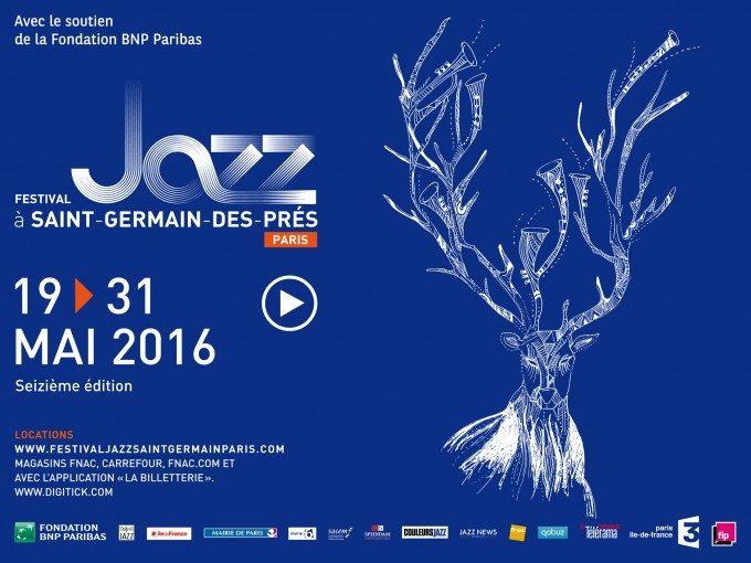 Ouverture de la 16ème édition du festival Jazz à Saint-Germain-des-Près