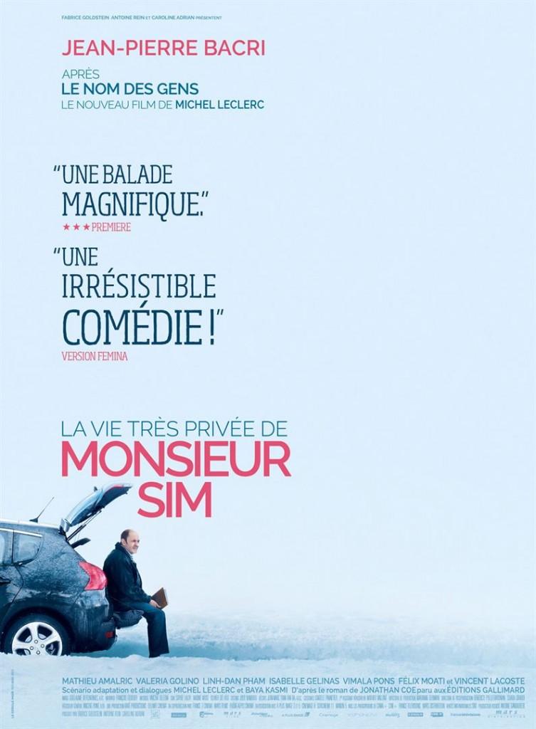 Critique [DVD] « La vie très privée de Monsieur Sim » un rôle magnifique pour un grand Bacri