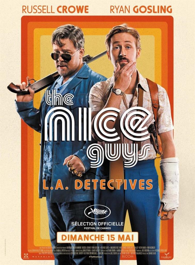 [Critique] du film « The Nice Guys » Ryan Gosling dévoile d'inattendus talents de clown