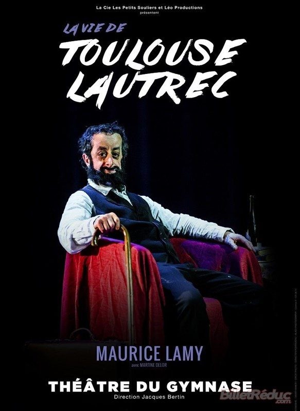 La vie de Toulouse Lautrec au théâtre du Gymnase jusqu'au 27 juin : un biopic incarné