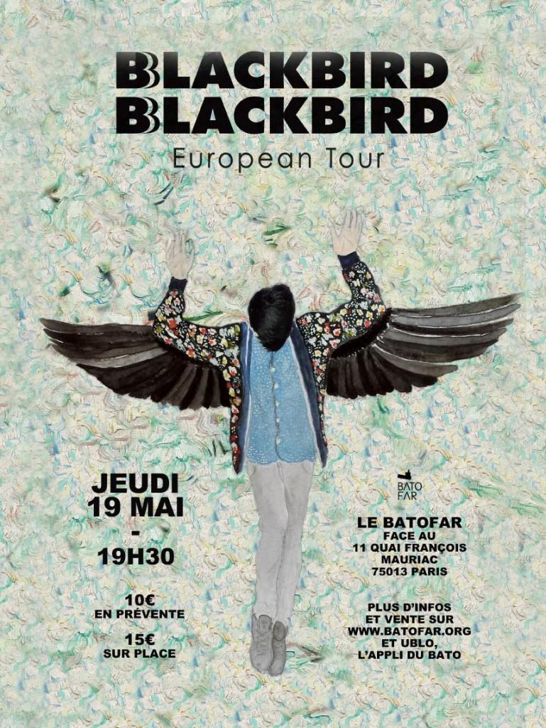 Gagnez 2×2 places pour le concert de Blackbird au Batofar