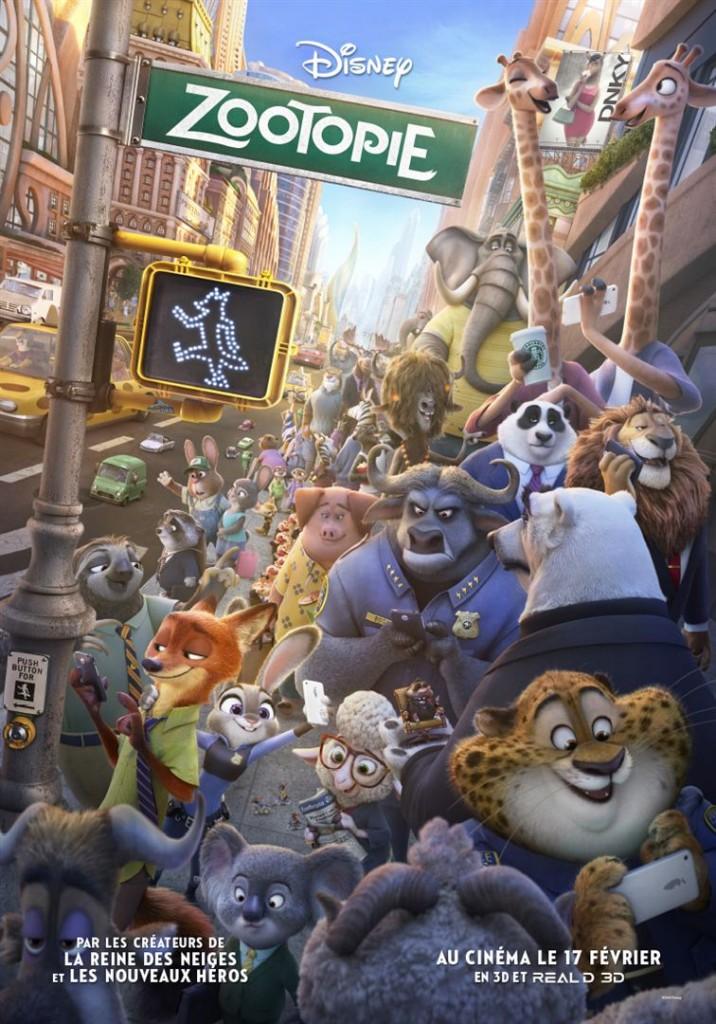 [DVD] Critique « Zootopie » Disney fait de la politique avec talent et inventivité