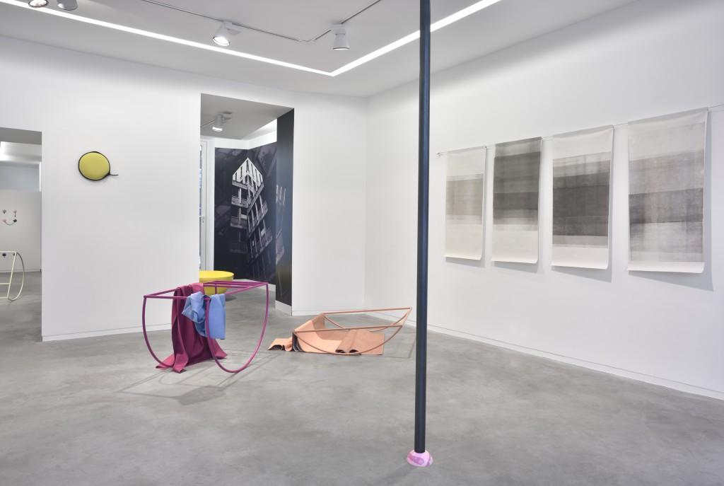 Gwendoline Perrigueux et Bérénice Lefebvre à la galerie Eric Mouchet