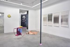 Vue d'exposition, galerie Eric Mouchet, © Rebecca Fanuele