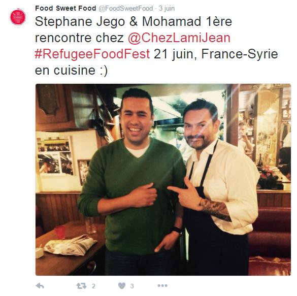A table! Des chefs réfugiés se mettent au fourneau à Paris