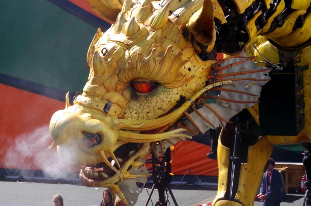Live-Report : Le Dragon Long Ma à Calais