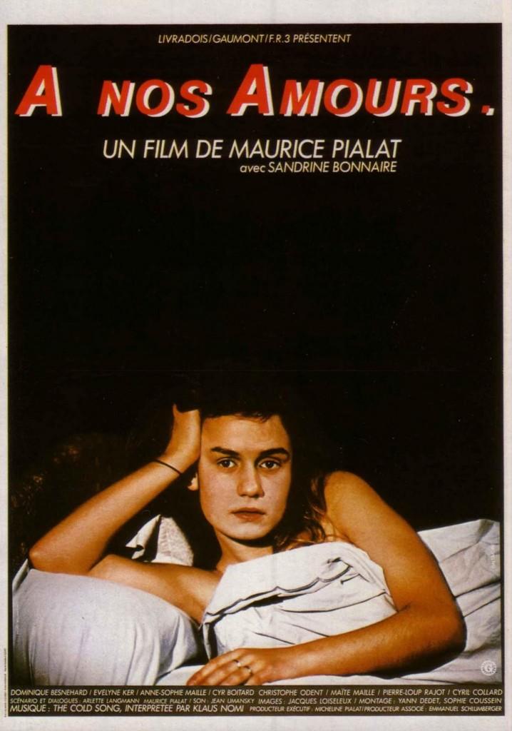 Soirée Dominique Besnehard aux Fauvettes, avec le sublime Pialat «A nos amours»