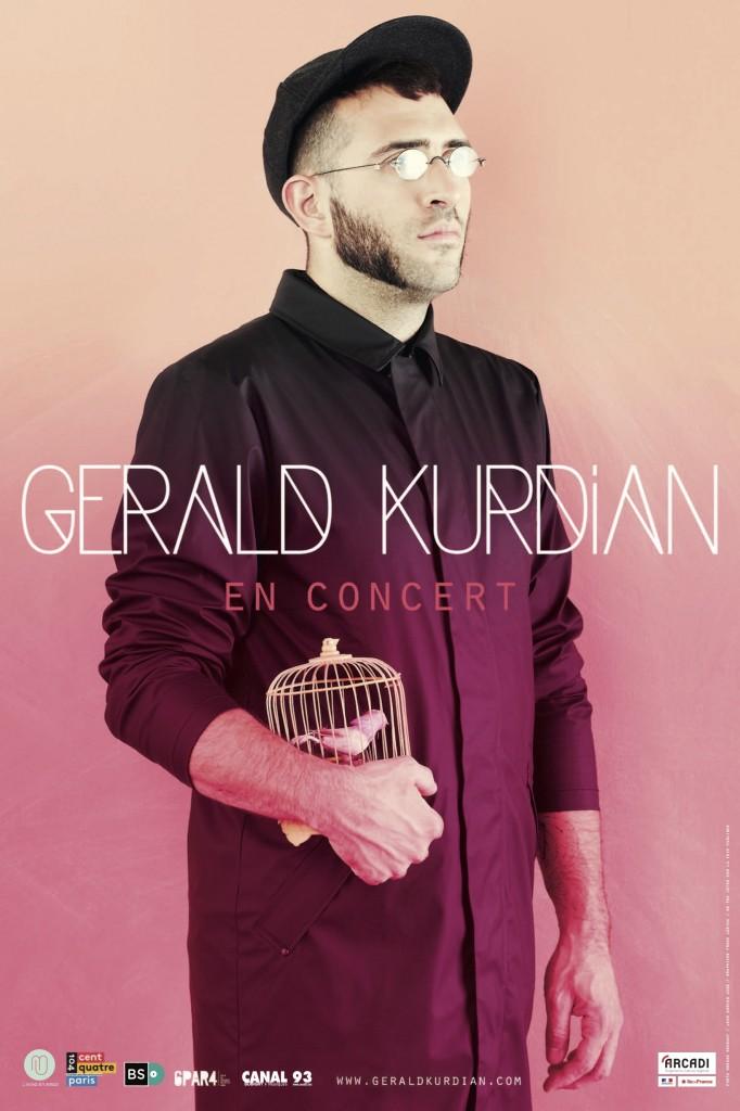 Gagnez 4×2 places pour le showcase de GERALD KURDIAN le 14 juin au Carmen