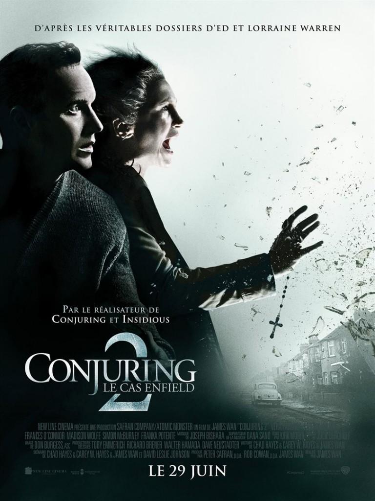 [Critique] du film « Conjuring 2 : le cas Enfield » polar d'épouvante de bonne facture