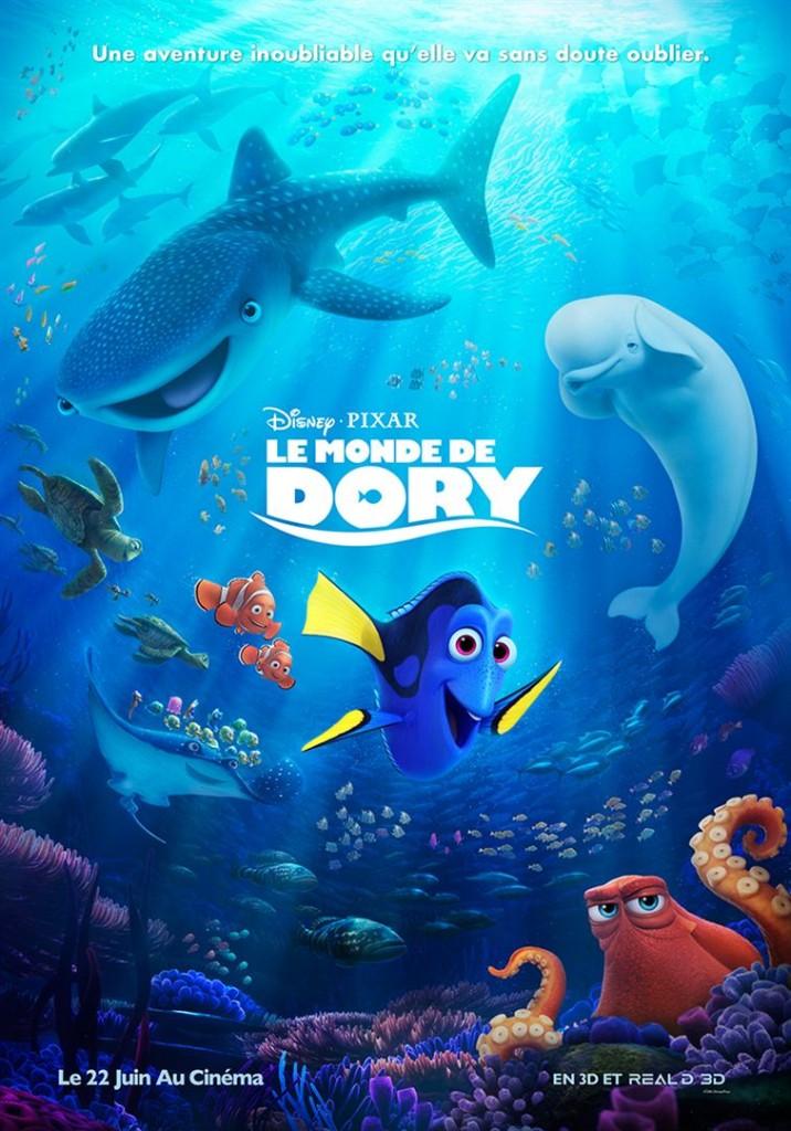[Critique] du film « Le monde de Dory » Pixar ne surprend plus qu'épisodiquement