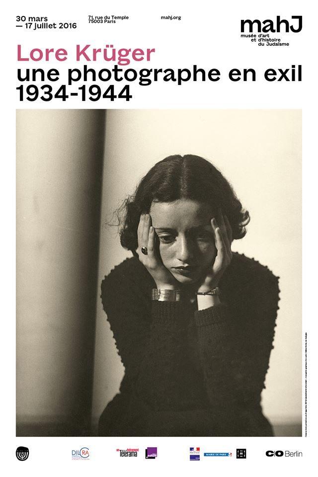 Lore Krüger : Photographe, juive et témoin de son temps, au MAHJ
