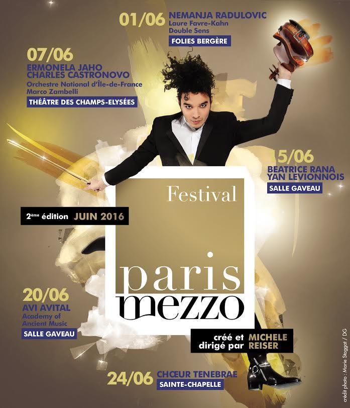Nemanja Radulovic ouvre le Festival Paris Mezzo avec brio et liesse