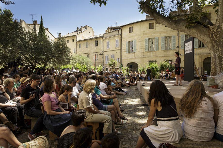 [Festival d'Avignon] Trois lectures gratuites dans trois jardins