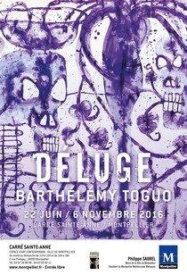 [Montpellier] Barthélémy Toguo fait fleurir les tombes au dessus de nos déluges au Carré Sainte-Anne
