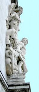Antoine Etex, La Résistance de 1814 ©.archives socie?te? des Artistes Franc?ais