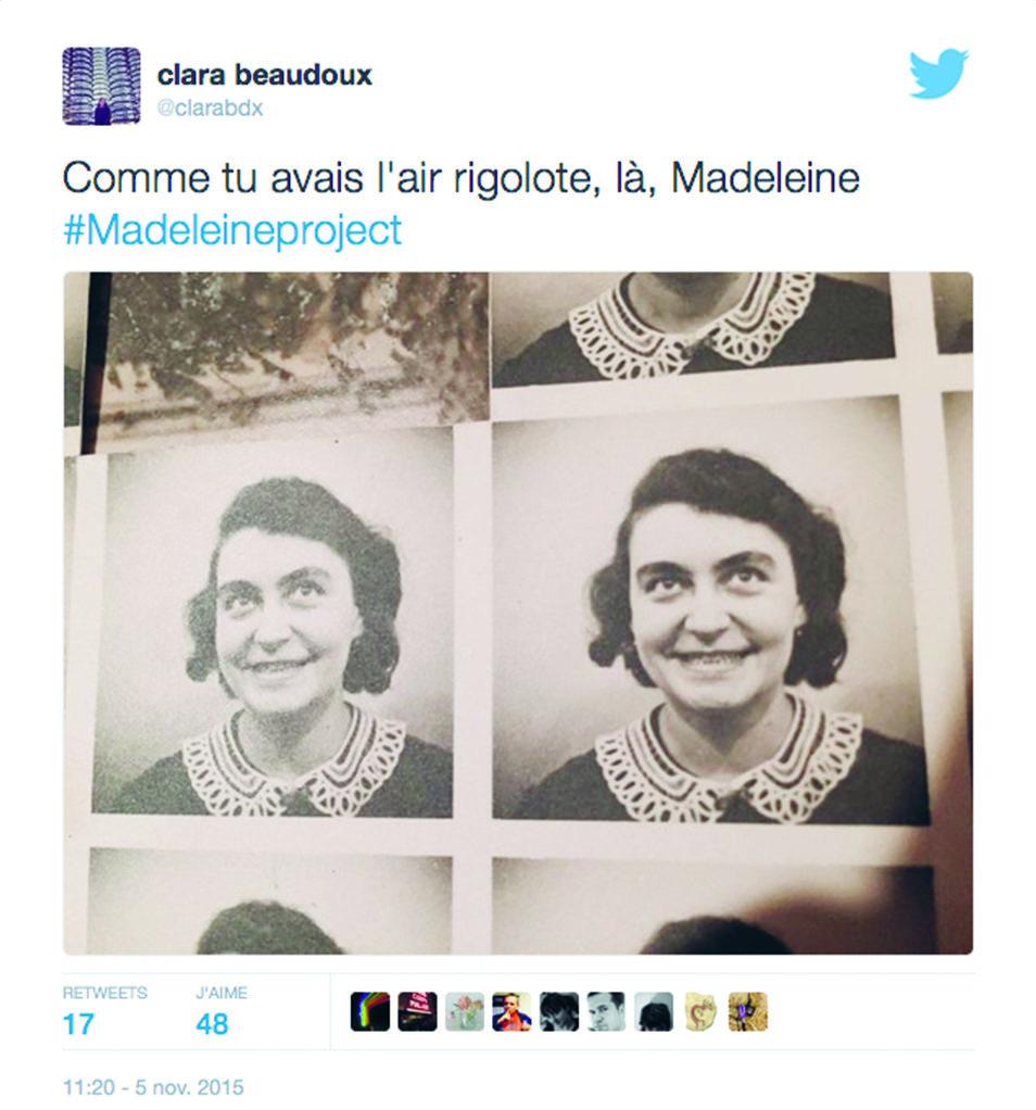 #MadeleineProject : du tweet au livre, il n'y a qu'un pas que Clara Beaudoux franchit avec grâce