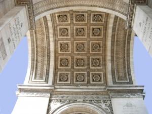 La voûte de l'Arc de triomphe ©.archives société des Artistes Français