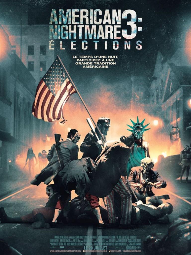 [Critique] du film « American Nightmare 3 : Elections » Survival dystopique façon blaxploitation