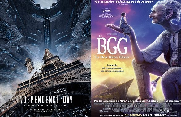 Box-office France semaine : Independence Day 2, le BGG et American Nightmare 3 entrent en piste