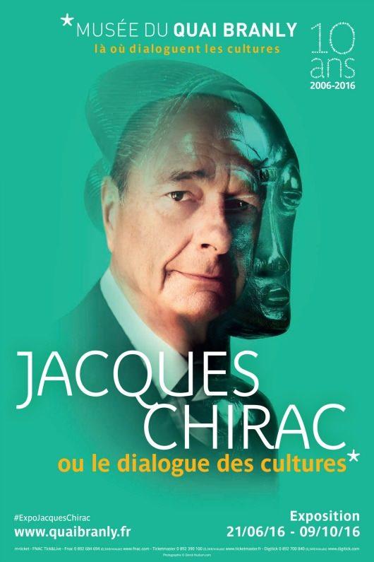 Exposition Jacques Chirac et le dialogue des cultures au musée du quai Branly jusqu'au 9 octobre 2016