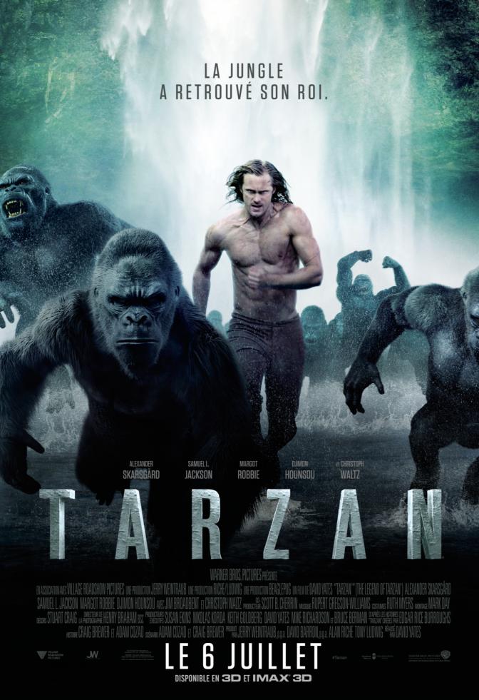 [Critique] Tarzan 2016, la légende s'essouffle