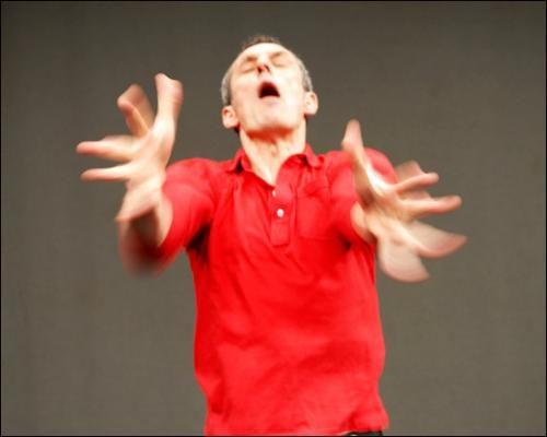 In Vivo Danse, le rapport de stage de Xavier Le Roy