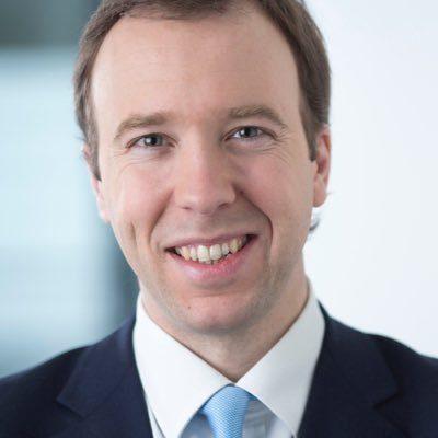Matt Hancock, à la tête du ministère britannique de la Culture après Ed Vaizley