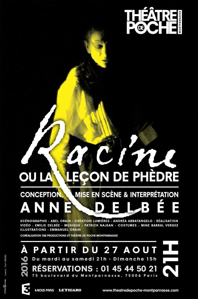 Rencontre iréelle avec Jean Racine au Poche Montparnasse