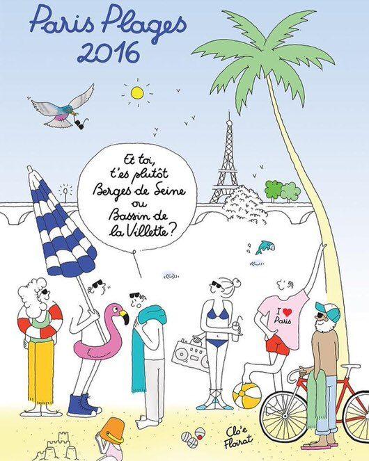Les musées prennent aussi leurs quartiers d'été à Paris plage jusqu'au 21 août 2016 !