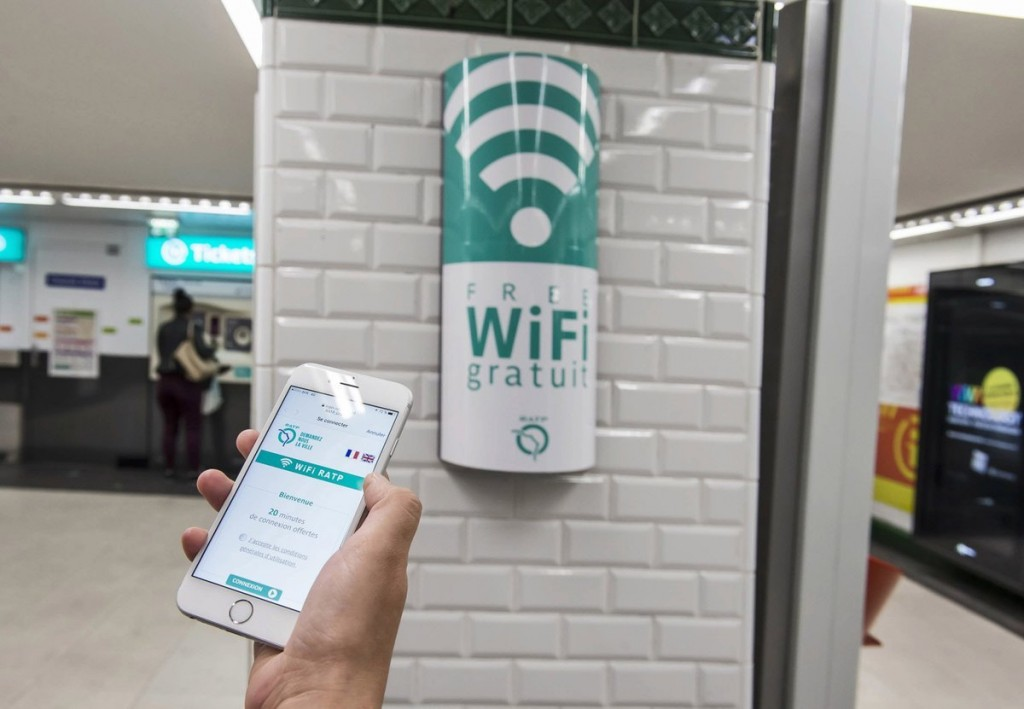 Du Wifi dans le métro
