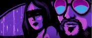 Vidéo   David Bowie repris par Marilyn Manson dans un clip en 16 bit