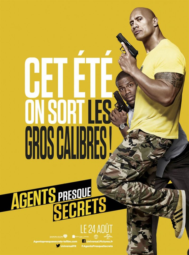 [Critique] du film « Agents presque secrets » The Rock et Kevin Hart font leur buddy-movie