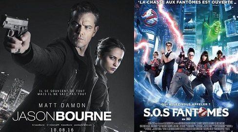 Box-office France semaine : Jason Bourne surclasse SOS Fantômes