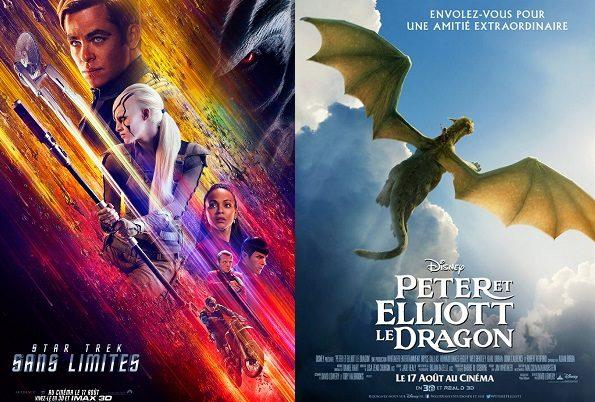 Box-office France semaine : Star Trek sans limites talonné par Peter et Elliott le dragon