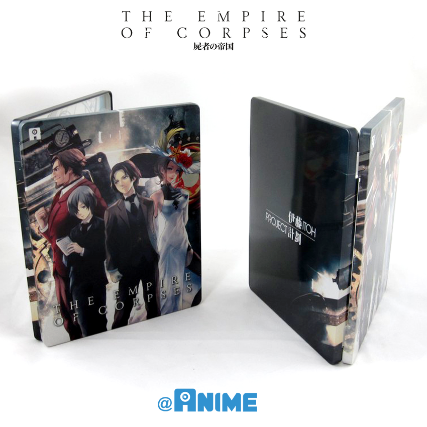 « Empire of corpses » en coffret collector combo DVD/Blu-ray chez AllTheAnime
