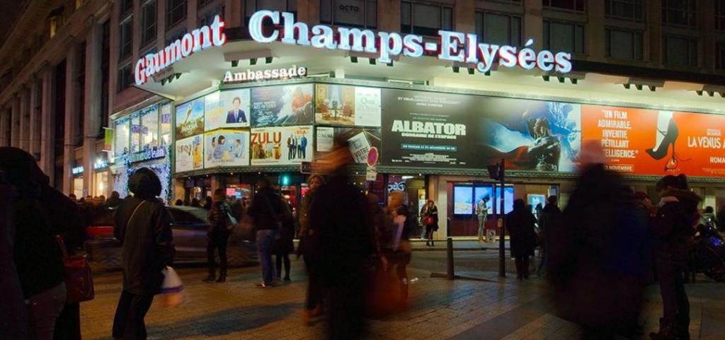 Un cinéma de moins Avenue des Champs-Elysées.