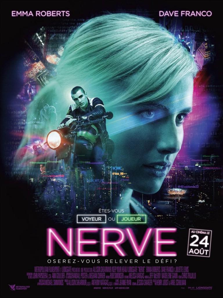 [Critique] du film « Nerve » Dave Franco et Emma Roberts dans un cap ou pas cap virtuel