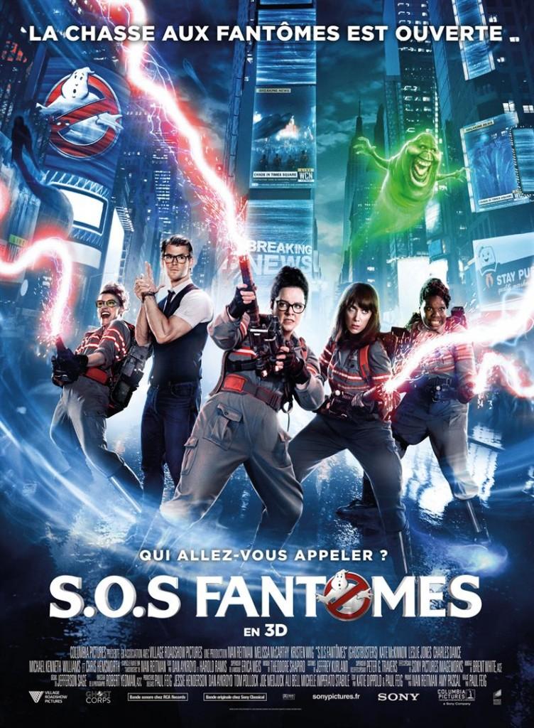 [Critique] du film « SOS Fantômes » sympathique remake au féminin de Ghosbusters