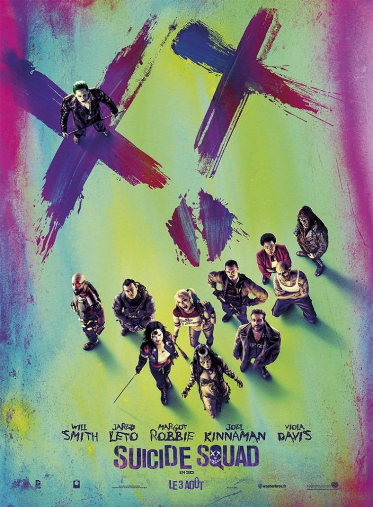 Box-office France semaine : 1 million d'entrées Suicide Squad qui ressuscite Will Smith