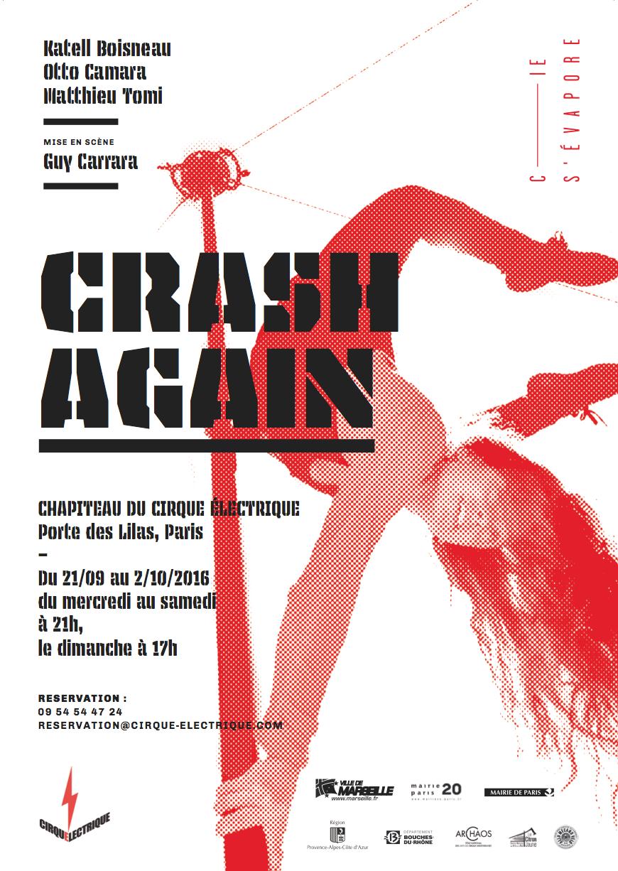 Crash again rage po sie et prouesses pneumatiques - Le cirque electrique porte des lilas ...