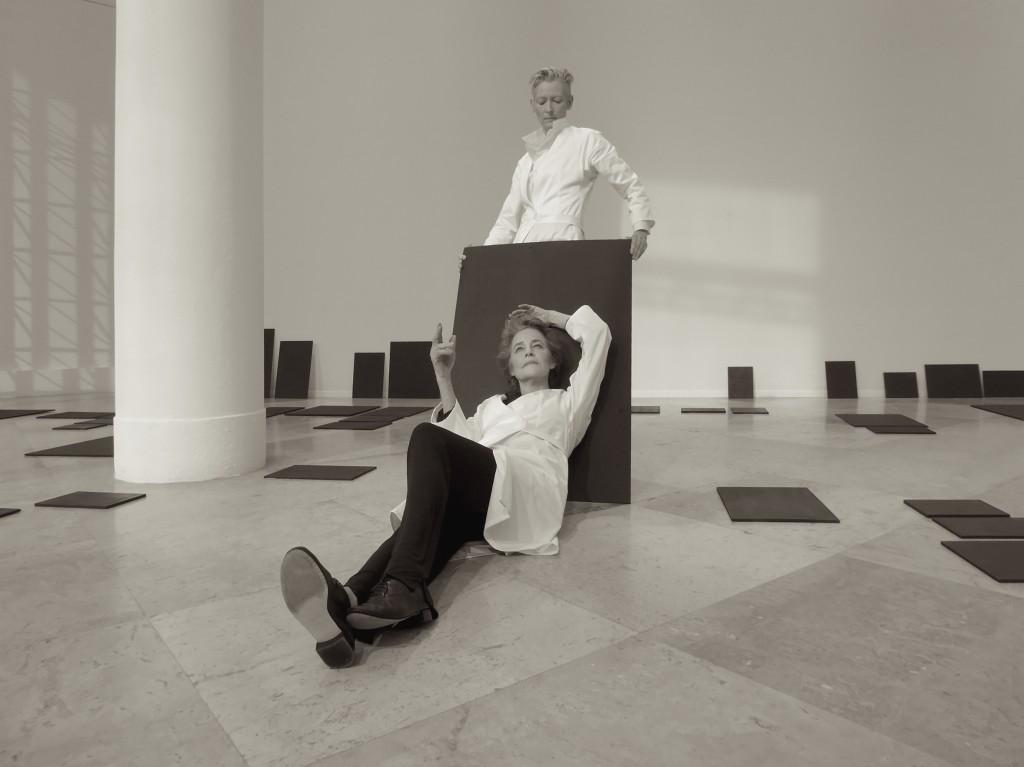 [Festival d'Automne] Tilda Swinton et Charlotte Rampling en fantômes des arts