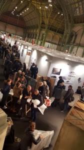 Le Salon des Artistes Français Art Capital 2015 le départ des Artistes, ©SAF-Afsaneh Afkhami
