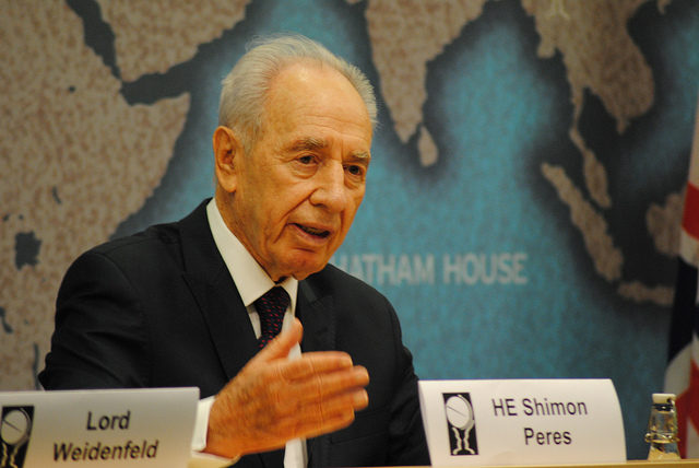 Le prix Nobel de la paix, Shimon Peres est mort