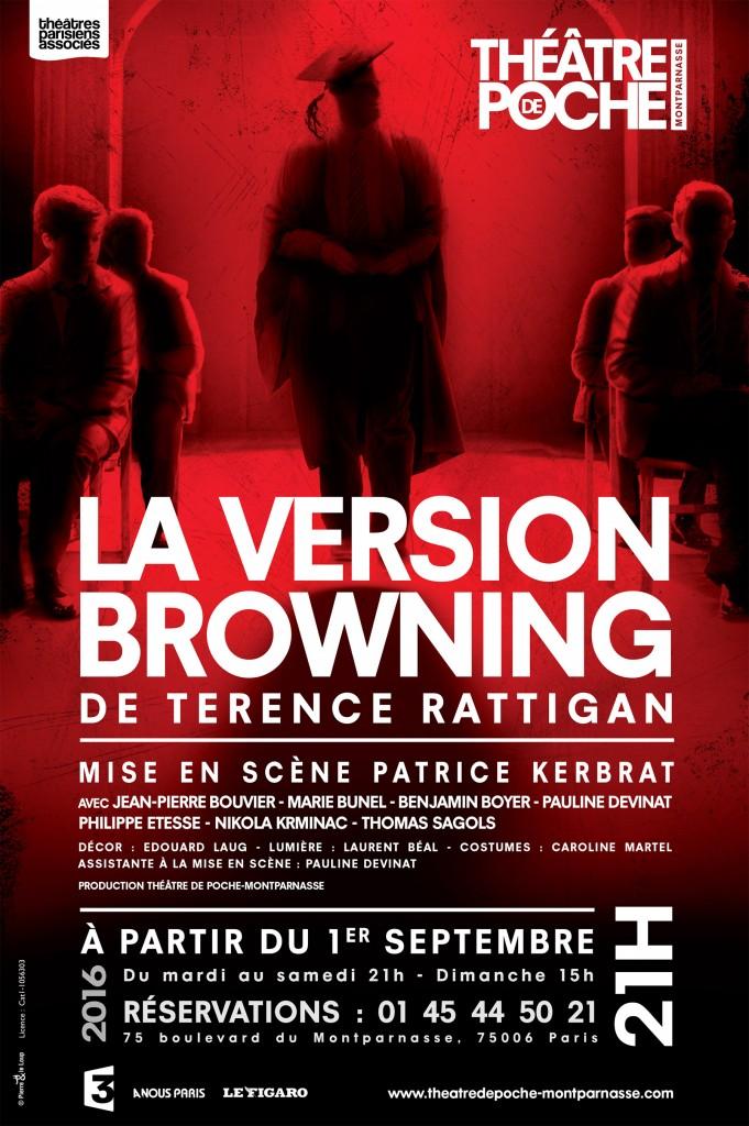 Jean-Pierre Bouvier, sublime au Poche Montparnasse dans «La Version Browning»