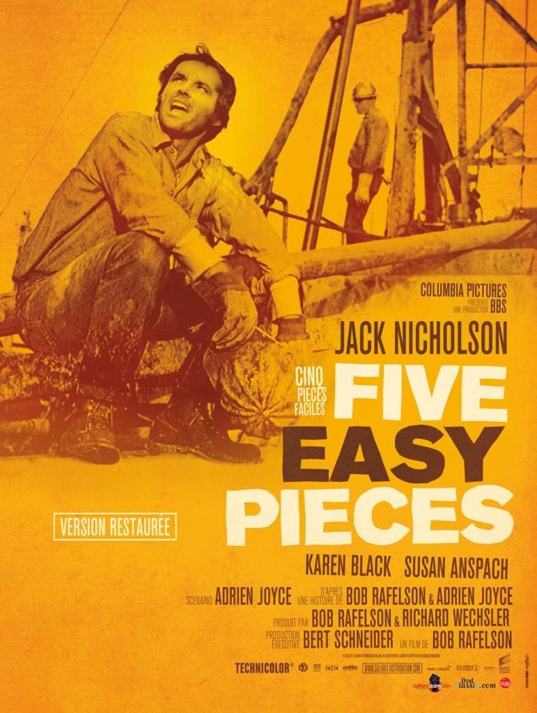 Reprise: «Cinq Pièces Faciles» le premier grand rôle de Jack Nicholson !