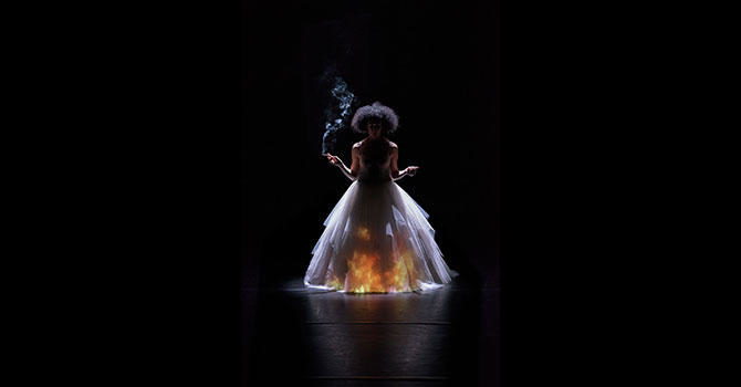 (Biennale de la danse) Cristiana Morganti, Jessica and me
