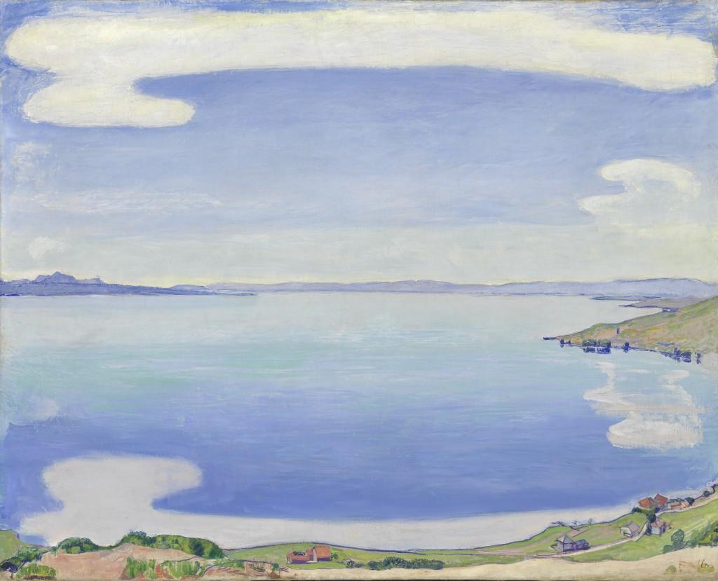 «Hodler Monet Munch» réunis au Musée Marmottan : symphonie en bleu majeur