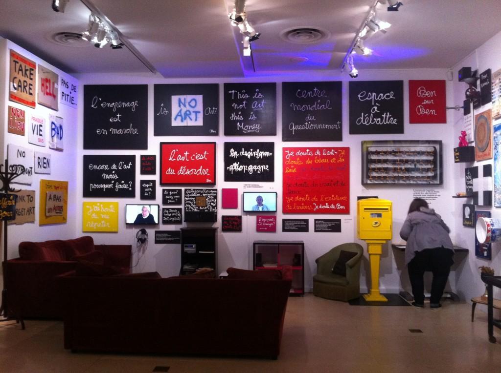 Ben se questionne au musée Maillol