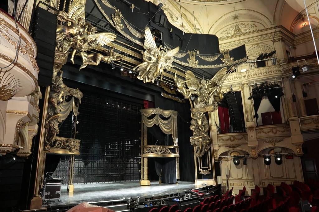 Dans les coulisses du «Fantôme de l'opéra» à Mogador !