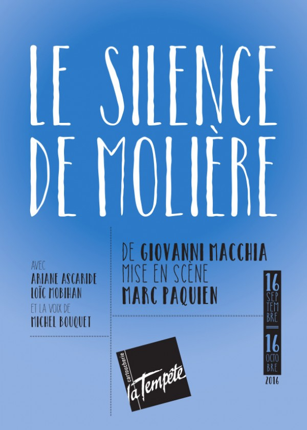 Silence Moliere affiche